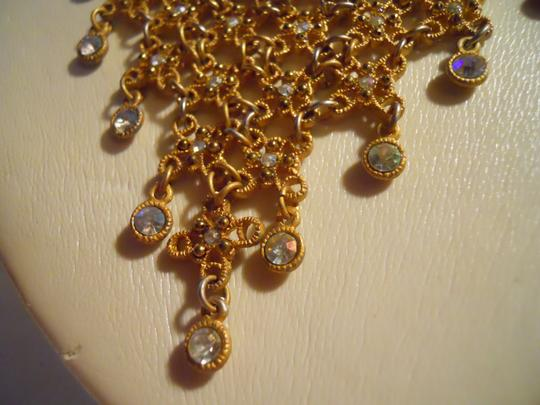 Other bib rhinestone necklace and earrings Image 7