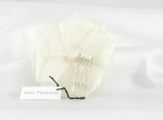 Toni Federici Ivory D Headpiece / Comb Hair Accessory