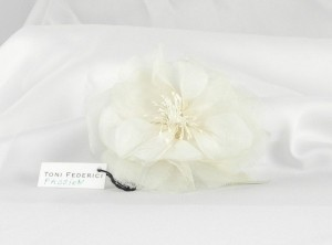 Toni Federici Ivory Passion Headpiece Comb Hair Accessory