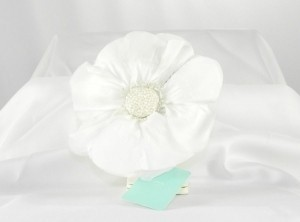 Jennifer Leigh Couture Veils and Accessories White Chloe Hairclip Hair Accessory