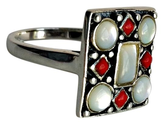 Preload https://item2.tradesy.com/images/jones-new-york-red-white-and-silver-vintage-jny-art-deco-sterling-size-8-ring-4966666-0-0.jpg?width=440&height=440