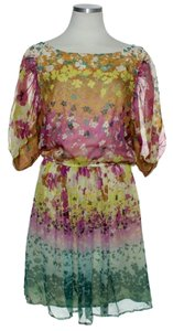 ECI New York short dress Multi-color Blouson Floral on Tradesy