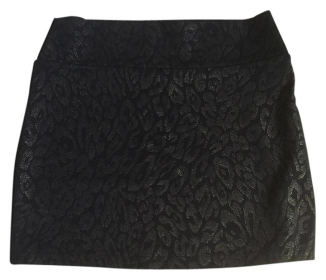 A'GACI Going Out Night Out Trendy Mini Skirt Black