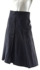 Sonia Rykiel Drop Pleat Skirt Black