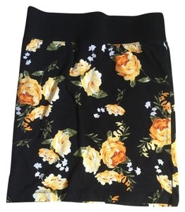 Forever 21 Going Out Mini Summer Mini Skirt Black