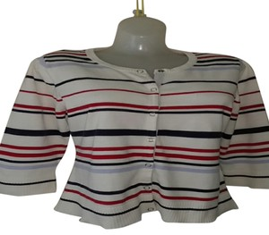 Christopher & Banks Cotton Striped Sweater