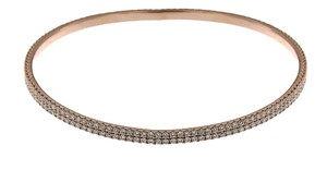 BRAND NEW, Ladies Rose Gold Bracelet with White Diamonds