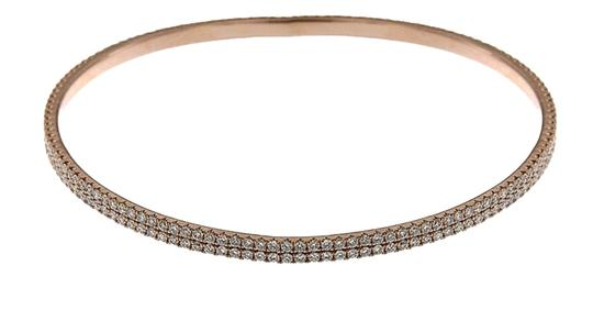 Other BRAND NEW, Ladies Rose Gold Bracelet with White Diamonds