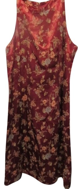 Preload https://img-static.tradesy.com/item/4968031/burgundy-with-butterfly-print-above-knee-night-out-dress-size-6-s-0-0-650-650.jpg