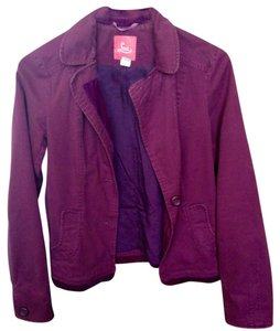 Lux Jacket Spring Purple Blazer