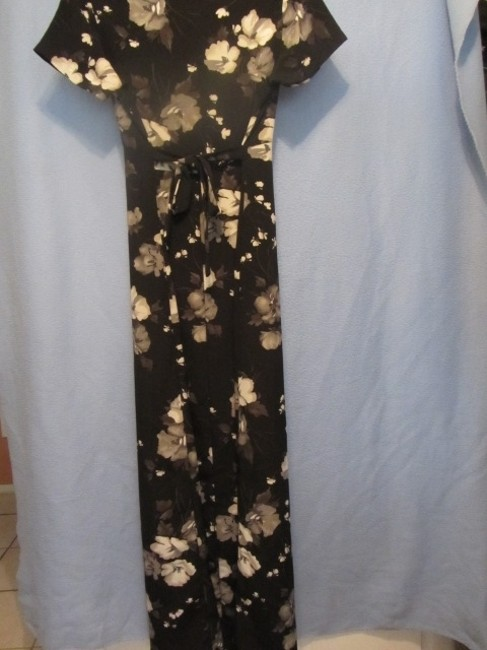 Other short dress black with floral print on Tradesy Image 2