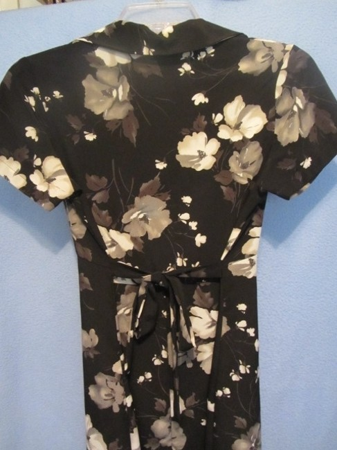 Other short dress black with floral print on Tradesy