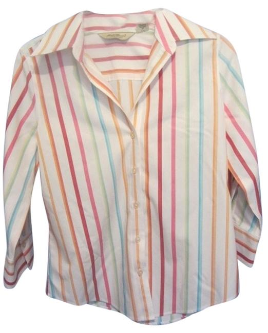 Preload https://item4.tradesy.com/images/eddie-bauer-white-with-multi-stripe-blouse-size-0-xs-4968163-0-0.jpg?width=400&height=650