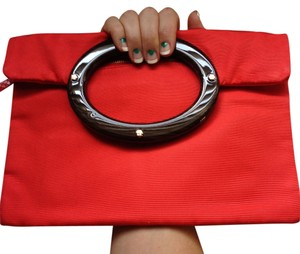 Kate Spade Preppy Feminine Elegant red Clutch