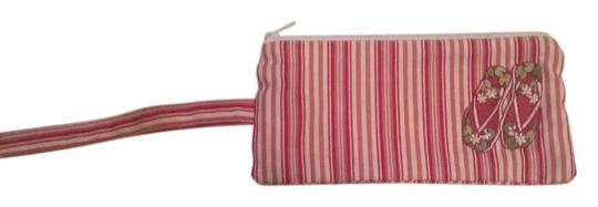 Fashion Girl Wristlet in Pink and White