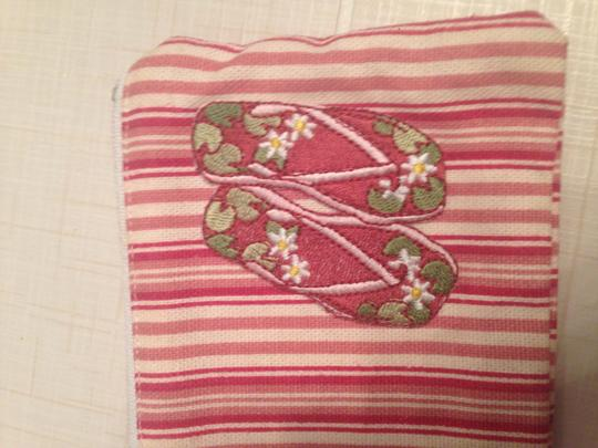 Fashion Girl Wristlet in Pink and White Image 2