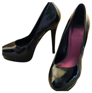 Joey O Night Out Stiletto Black Pumps