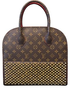 Louis Vuitton Tote in Red/Brown