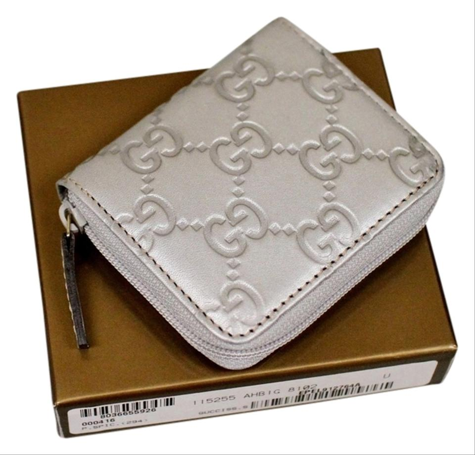 buy online 7c329 9d037 Gucci New Guccissima Leather Coin Purse W/Box 115255 Wallet 48% off retail