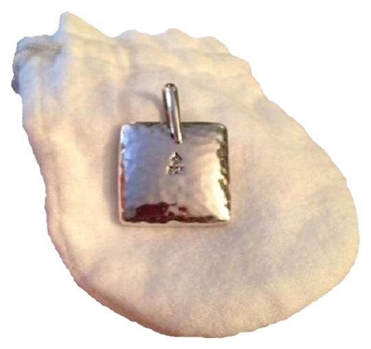 Silpada Heavy Silpada square Pendant 1.5 inches each side. Has a large.long pendant circle to hang it from. See Pic
