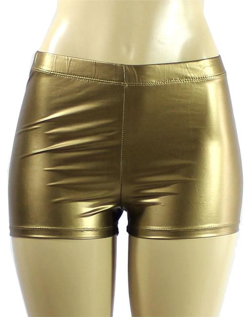 Exotic Wear Mini/Short Shorts gold