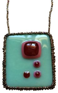Other Hand Crafted Glass Pendant Necklace