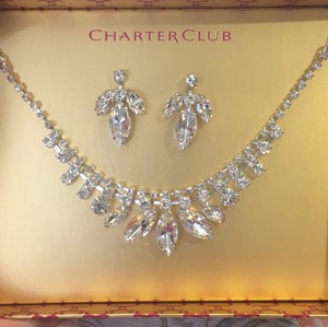 Charter Club Wedding/formal Jewelry Set