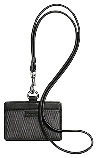 Coach Coach Men's ID Lanyard ID Badge (ship via priority mail)