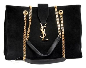Saint Laurent 2015 Collection Tote in Black