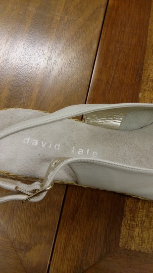 david tate Cream Wedges