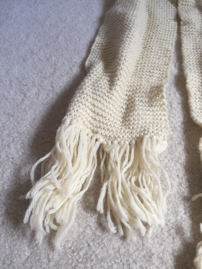 Other Hand Knit Fringe Scarf