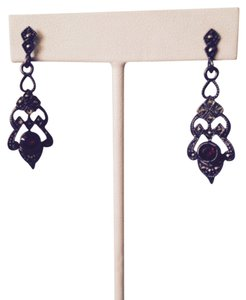 J J for Embellished by Leecia Embellished by Leecia Garnet Earrings Only! Matching Pieces Sold Seperately