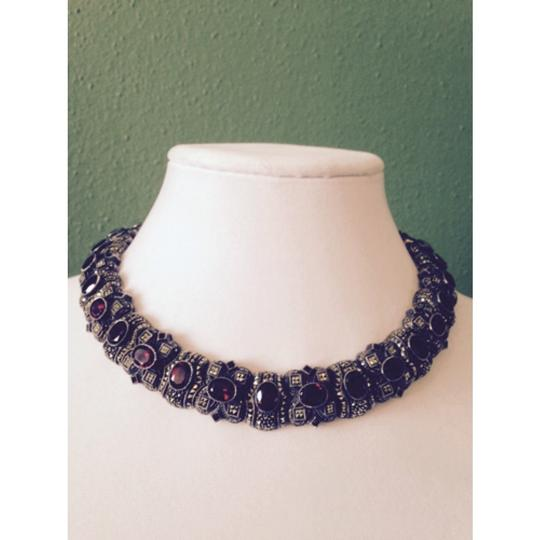 J J for Embellished by Leecia Embellished by Leecia Garnet Necklace Only! Matching Pieces Sold Seperately