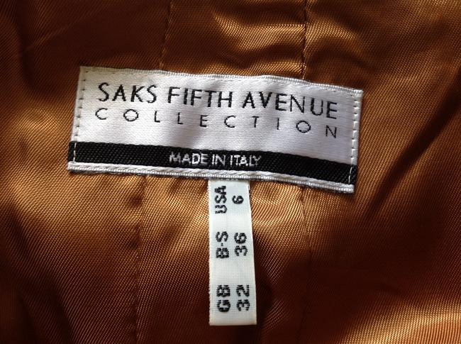Saks Fifth Avenue Straight Pants Med. Brown