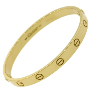 Cartier Authentic Cartier love bracelet size 17