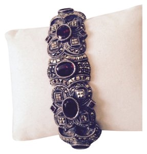 J J for Embellished by Leecia Embellished by Leecia Garnet Bracelet Only! Matching Pieces Sold Seperately