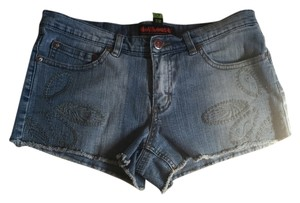 Dollhouse Classic Denim Shorts-Medium Wash