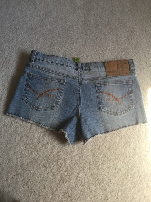 Dollhouse Classic Denim Shorts-Medium Wash Image 1
