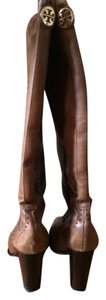 Tory Burch Leather Brown Leather Boots