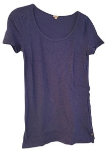 J.Crew Snap T Shirt Blue