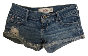 Hollister Denim Shorts-Medium Wash