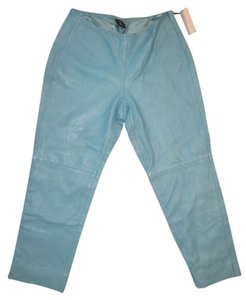 Gap Capri/Cropped Pants Light blue aqua