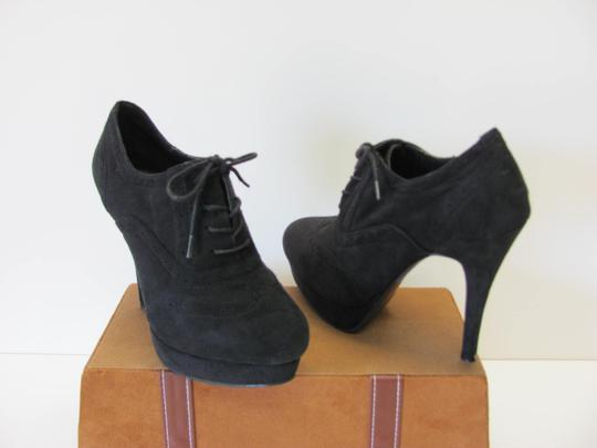 Diva Lounge Excellent Condition Size 8.00 BLACK Platforms Image 2