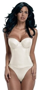 Merry Modes Merry Modes Flattering Me Longline Bra Bustier 728S Ivory Size 34B