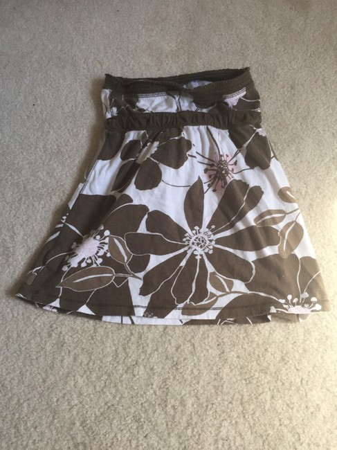 Abercrombie & Fitch Summer Beach Strapless Top Brown Image 2