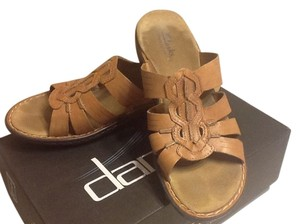 Clarks Bendables Brown Sandals