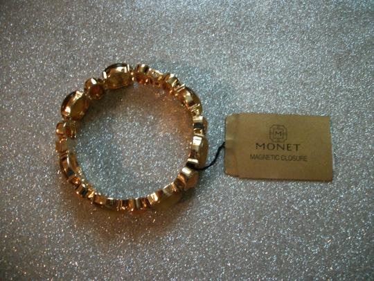 MONET Warm Colors Multicolor Gold Tone Bracelet By Monet