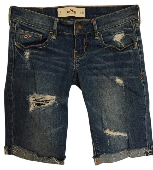 Hollister Capri Capri/Cropped Denim-Distressed