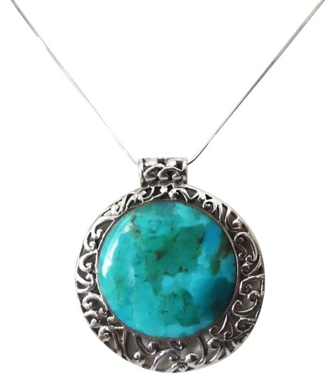 Preload https://item4.tradesy.com/images/studio-barse-925-sterling-silverturquoise-pendant-necklace-4977778-0-0.jpg?width=440&height=440