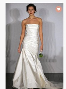 Amsale Miscka Trumpet Wedding Dress